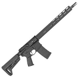 "SIG Sauer M400 Tread AR-15 Semi Auto Rifle 5.56 NATO 16"" Barrel 30 Round Magazine M-LOK Free Float Hand Guard Collapsible Stock Matte Black Finish"