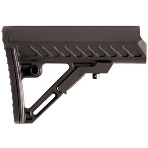 Leapers UTG PRO Model4 Combat Ops S2 Mil-Spec Butt Stock AR-15 Collapsible Stock Polymer Black RBUS2BMS