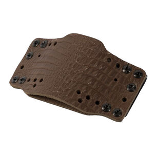 Limbsaver CrossTech Leather Gun Holster Ambidextrous IWB/OWB Most Full Size/Compact Semi Auto Pistol Dark Brown