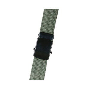 "5ive Star Gear Web Belt With Black Closed Face Buckle 54"" Olive Drab"