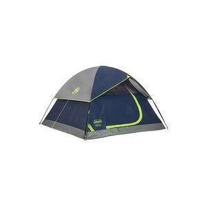Coleman Sundome Tent 9' X 7' 4 Person Navy/Grey