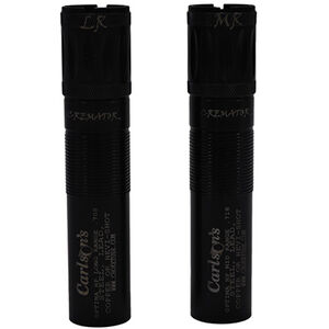 Carlson's Cremator Non-Ported Waterfowl Choke Tubes Beretta Optima HP 12 Gauge MR and LR 2 Pack Steel Black