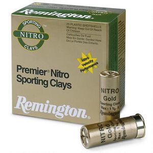 "Remington Premier STS Nitro SC 12 Gauge Ammunition 250 Rounds 2-3/4"" #8 Lead 1-1/8 Ounce STS12NSC8"