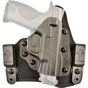 DeSantis Gunhide Infiltrator AIR 1911 Officer Compact IWB Holster Right Hand Breathable Synthetic and Kydex Black