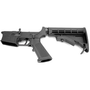Rock River Arms LAR-15 Complete Lower Half National Match Trigger 6-Position Tactical Carbine Stock Multi Caliber Marked Black AR0990M