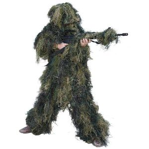 Red Rock Outdoor Gear 5 Piece Ghillie Suit Woodland Camo Adult Medium/Large 70915ML