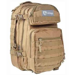 Drago Scout 5 Compartment Backpack Tan DRA14305TN