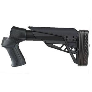 ATI 12 Gauge T3 Adjustable TactLite Shotgun Stock with X2 Recoil Reducing Grip & Butt-Pad in Destroyer Gray
