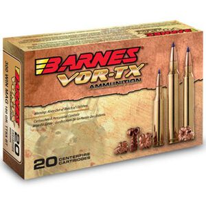 Barnes VOR-TX .416 Remington Magnum Ammunition 20 Rounds 400 Grain TSX FB HP Lead Free 2420 fps