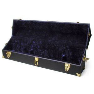 Auto Ordnance Thompson FBI Hardcase Faux Leather Velour Lined Black T7