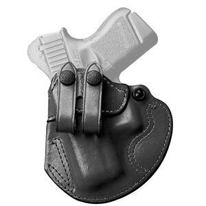 DeSantis Cozy Partner GLOCK 25/30 H&K P2000 and Similar IWB Holster Left Hand Leather Black