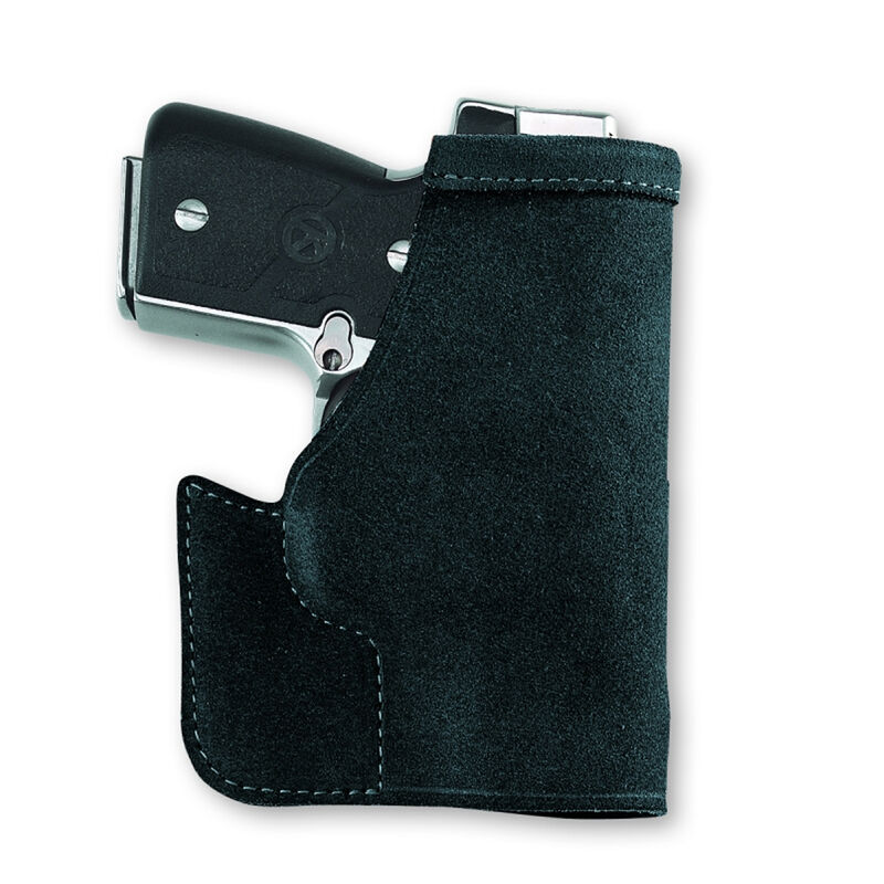 Galco Pocket Protector Holster SIG Sauer P238 Ambidextrous Center Cut Steer Hide Black PRO608B