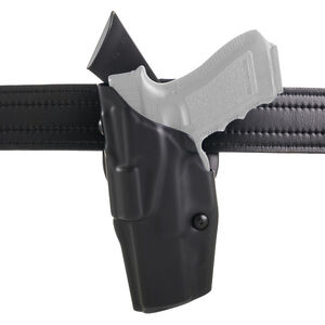 Safariland 6390 ALS Mid-Ride Duty Holster Fits SIG P220/P226 Left Hand Synthetic Leather Hi-Gloss Black