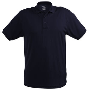 Elbeco UFX Ultra Light Women's Short Sleeve Polo Medium 100% Polyester Swiss Pique Knit Midnight Navy