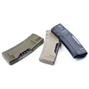 HERA USA H3T Gen-2 AR-15 Magazine 5.56 NATO 30 Rounds Transparent Frame Polymer OD Green