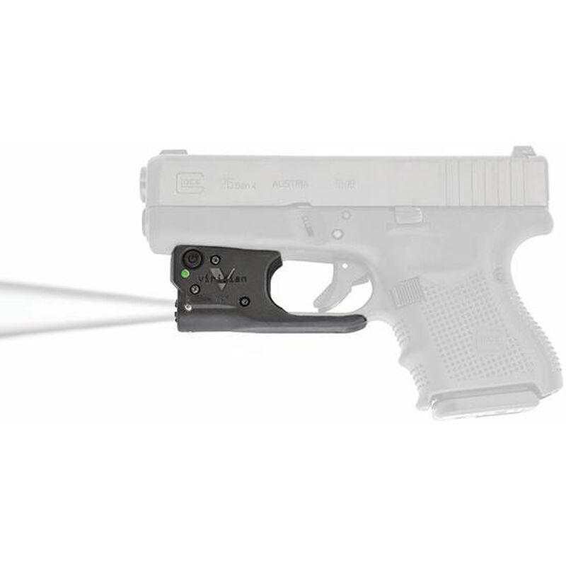 Viridian Reactor TL Gen 2 Tactical Light for Glock 19/23/26/27 featuring ECR and Radiance Includes Ambidextrous IWB Holster