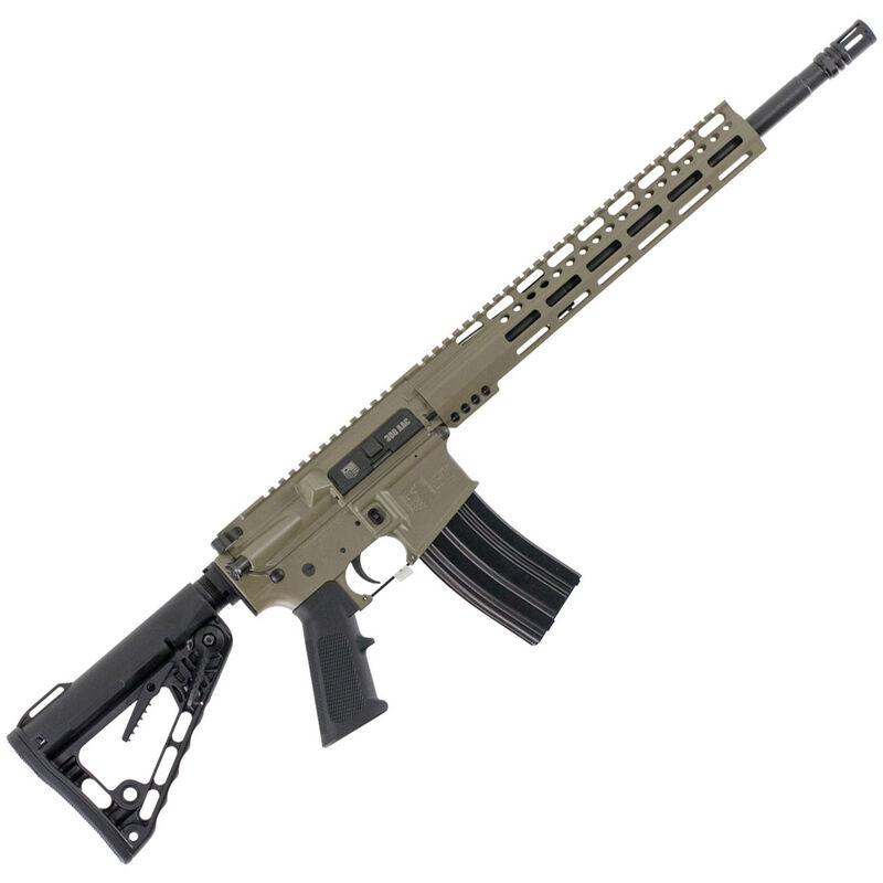 "Diamondback Firearms DB15CCK AR-15 Semi Auto Rifle .300 Blackout 30 Rounds 16"" Barrel M-LOK Handguard Collapsible Stock FDE"