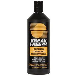 Break-Free CLP Cleaner/Lubricant/Preservative 4 oz Bottle