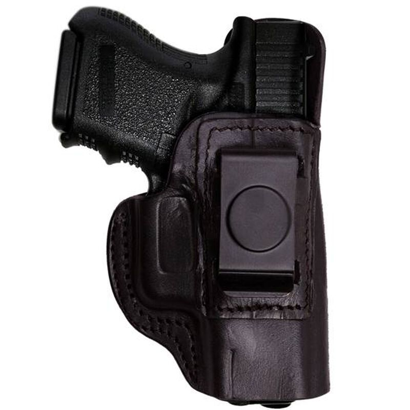 Tagua Gunleather IPH Bersa .380 ACP IWB Holster Right Hand Leather Black IPH-1200