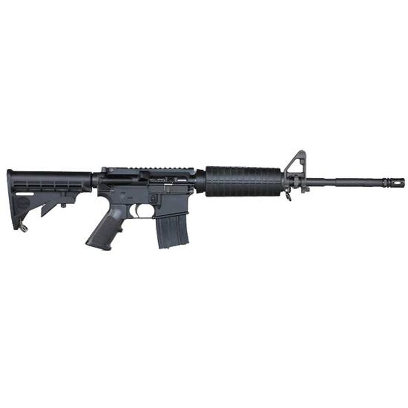 Stag Arms Model 5 Ar 15 Semi Auto Rifle 6 8 Spc Spec Ii 16 Government Barrel 25 Round Flat Top Upper 6 Position Stock A2 Front Sight Black