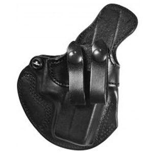"DeSantis Cozy Partner IWB Holster Springfield XD9/40 Subcompact 3"" Right Hand Leather Black 028BA77Z0"