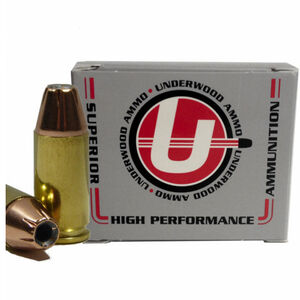 Underwood Ammo 9mm +P Ammunition 20 Rounds 124 Grain Hornady XTP 1255 fps