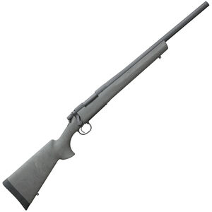 "Remington 700 SPS Tactical AAC-SD 6.5 Creedmoor Bolt-Action Rifle 22"" Heavy Barrel 4 Rounds Threaded 5/8x24 Hogue Overmolded Ghillie Green Pillar Bedded Synthetic Stock Matte Blue"