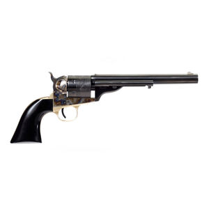 "Taylors and Company Cavalier Open-Top Revolver Single Action 38 Special 7.5"" Barrel 6 Rounds Color Case Hardened Black Polymer Grip"