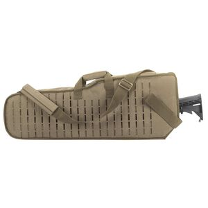 Voodoo Tactical Scoped Rifle Scabbard Nylon Coyote