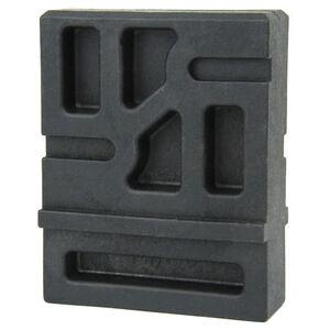 TacFire .308 AR Lower Receiver Vise Block Solvent Resistant Polymer Construction Matte Black Finish
