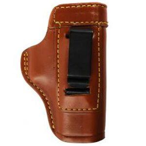 Gould & Goodrich GLOCK 26, 27, 33, Taurus PT111 Inside Waistband Holster Right Hand Leather Tan 890-G27