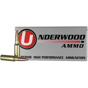 Underwood Ammo 6.5 Grendel 20 Round Box 110 Grain Controlled Chaos Lead Free 2800 fps