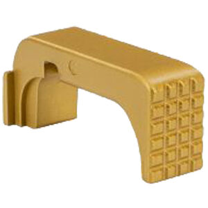 Shield Arms Magazine Catch/Release for Glock 43X/48 Steel Gold Finish