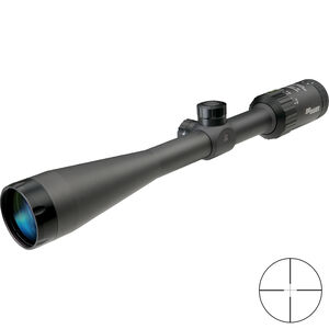 SIG Sauer WHISKEY3 4-12x40mm Rifle Scope Quadplex Reticle 1 Inch Tube .25 MOA Adjustment Matte Black Finish