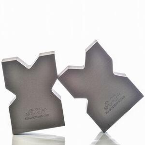 FoamAction Sports Package of Two FoamRest Charcoal Grey Gun RestsFAS00316-2