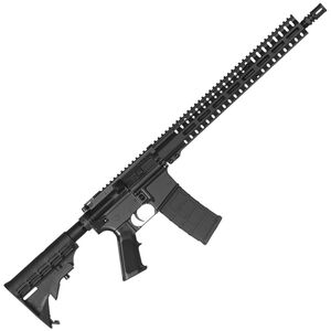 "CMMG Resolute 100 MK4 .300 Blackout AR-15 Semi Auto Rifle 16"" Barrel 30 Rounds RML15 M-LOK Handguard Collapsible Stock Black Finish"