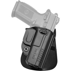 Fobus Evolution Holster Ruger SR9/40 Right Hand Paddle Attachment Polymer Black