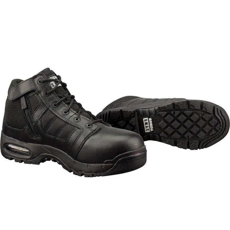 "Original S.W.A.T. Metro Air 5"" SZ Safety Men's Boot Size 7 Regular Non-Marking Sole Leather/Nylon Black 126101-7"