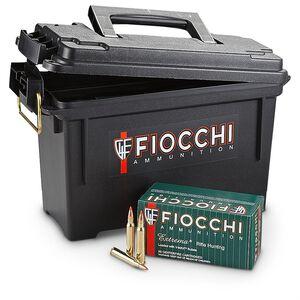 Fiocchi Extrema .223 Rem Ammunition 40 Grain Hornady V-Max Polymer Tip BT 3650 fps