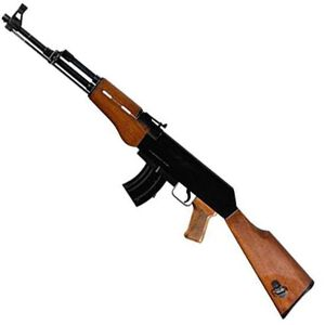 "Rock Island Armory AK22 Semi Automatic Rifle .22 Long Rifle 18.25"" Barrel 10 Rounds Black Finish Wood Stock and Grip 51121"