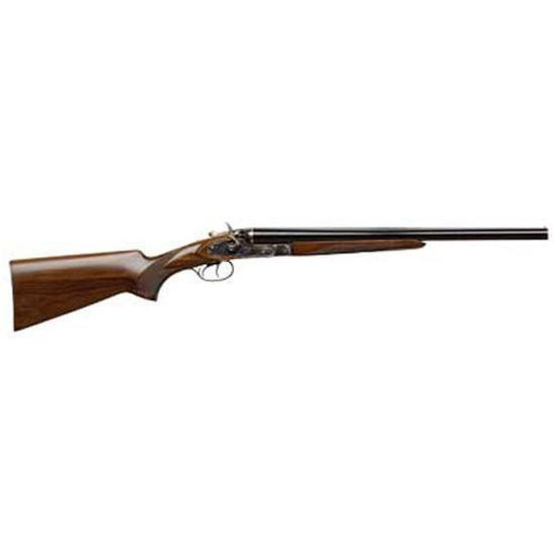 "CZ-USA Hammer Coach Side by Side Shotgun 12 Gauge 20"" Barrels 2 Rounds 3"" Chambers Case Hardened Frame Walnut Stock Blued 06130"