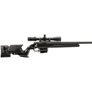 Archangel AA700B Short-Action Rifle Stock For Remington 700 with Ten Round Magazine Polymer Black