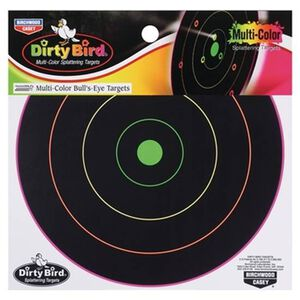 "Birchwood Casey Dirty Bird MultiColor Splattering Target 12"" Pack of 10 Targets"