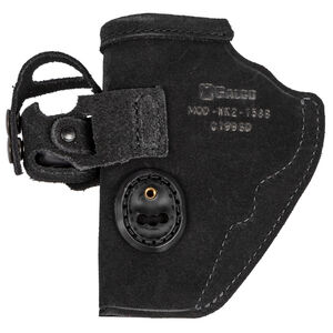 Galco Walkabout 2.0 Holster IWB Fits S&W J Frame and Similar Ambidextrous Leather Black