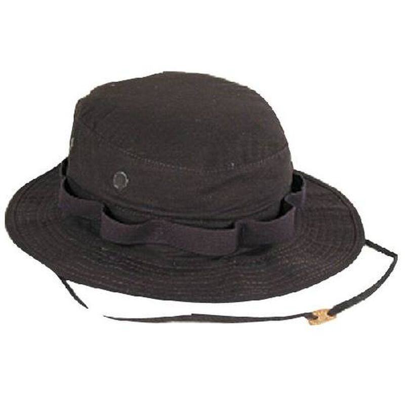 Voodoo Tactical Boonie Hat Cotton 7.5 Inches Black