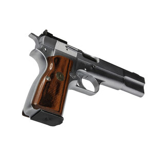 Pachmayr Renegade Wood Laminate Grips Browning Hi Power Smooth Rosewood 63280