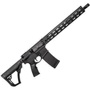 "Daniel Defense M4 Carbine V11 AR-15 Semi Auto Rifle 5.56 NATO 16"" Barrel 30 Rounds 15"" Free Float Keymod Rail Collapsible Stock Black 02-151-20026-047"