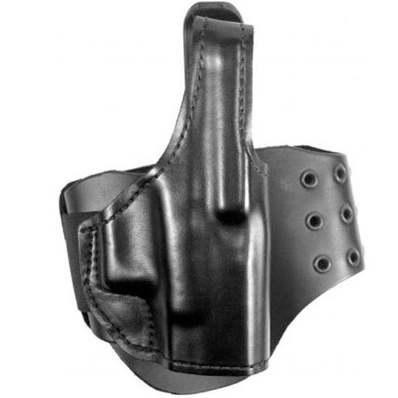 """Gould & Goodrich BootLock Ankle Holster for S&W 1.88"""" Revolvers Black Finish B716-42"""