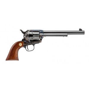 "Cimarron Model P Single Action Army Revolver .45 LC 7.5"" 6 Round Case Hardened Frame Blue Barrel Walnut Grips"