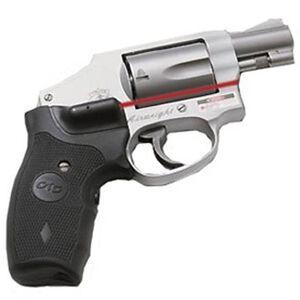 Crimson Trace Lasergrip S&W J Frame Round Butt Revolver Wraparound Rubber Black LG-305